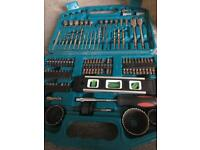 Makita drill bit set 101pc straight shank accessory case