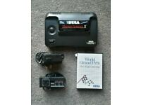 Console sega master system II + controller + power supply + world grand prix game