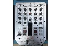 VMX 200 professional DJ mixer by Behringer.
