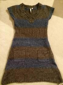 Knitwear knitted dress size 8