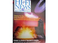HI-FI REVIEWS PINK TRIANGLE ARISTON RII SUP ASAK ITTOK LINN LP12 HEYBROOK BOSTON