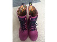 Brand new women's Joules wellies. Size 5