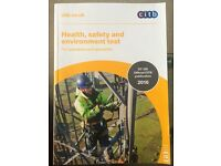Health safety and environment test CITB 2016