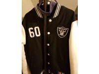 Used raiders jacket.