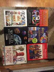 Collection of 6 children's encyclopaedia and knowledge books