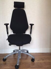 Office chair RH Logic 400 Complete Black
