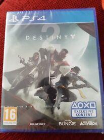Destiny 2. brand new and sealed