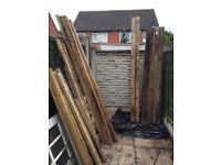 Fence Posts x 8