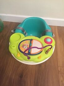 Selling bumbo floor seat, tray an safari toy top activity for £30 excellent condition
