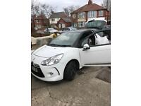 Citroen DS3 1.6HDI sports package Black & White leather, free tax