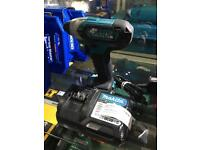Makita TD110D Impact driver with charger and 2.0ah battery