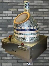 Handmade natural gas ceramic tandoori oven for sale