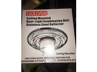 Ceiling heater light