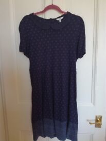 Fat Face navy dress / tunic size 16