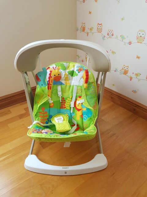 Fisher-Price Rainforest Take-Along Swing & Seat - Used - very good  condition   in Northampton, Northamptonshire   Gumtree