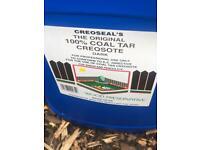 Creosote 100 percent coal tar
