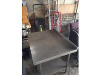 Stanley steel table