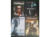 Terminator DVD collection
