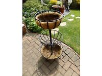 3-TIER BASKET PLANTER