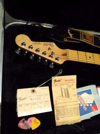 Fender Stratocaster, 1988 American Standard, Sunburst Body With Maple Neck