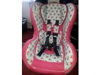 Cottage rose OBaby group 0-1 car seat