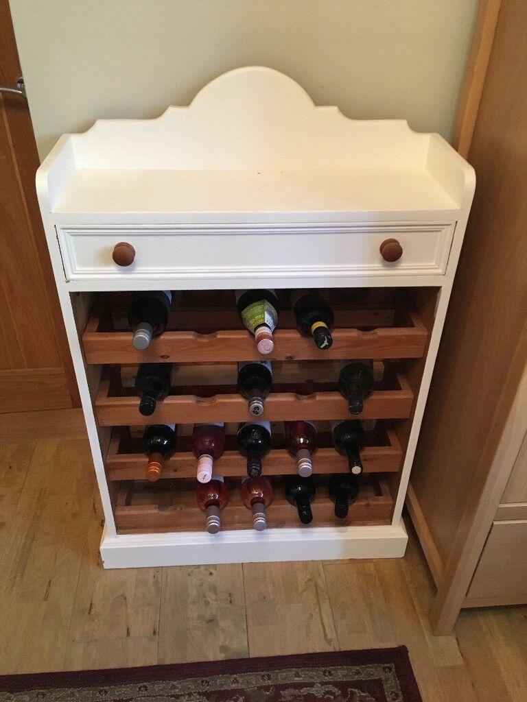 Wooden Freestanding Wine Rack In Winslow Buckinghamshire Gumtree