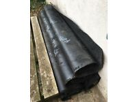 Five Lengths of Roof Felt from FeltProducts Unused