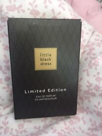 Avon little black dress perfume limited edition