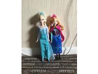 Anna and Elsa Dolls £10.00 for both dolls