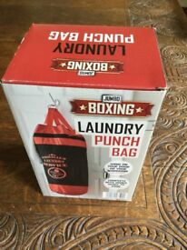 Boxing Laundry Punch Bag