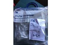 Mothercare weather shield for stroller