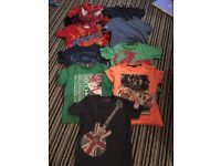 Bundle of Boys Tops (Age 8-9)