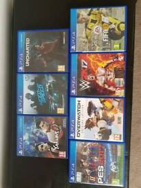 Ps4 games uncharted overwatch yakuza