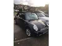 Mini Cooper 'Chilli Pack' 'Chrome Pack' Convertible -Half Leather - Black 1yr MOT & service history