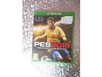 XBOX ONE - PES 2016 - £4