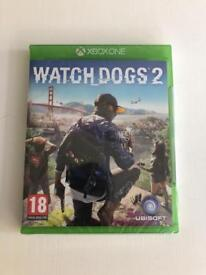 Xbox one Watchdogs 2 game - sealed /unused