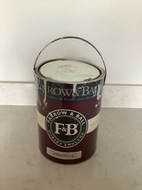 Farrow and Ball Modern Emulsion paint, Cornforth White approx 2.5L, RRP £50