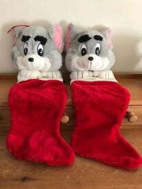 Brand New Tom Christmas Stockings.