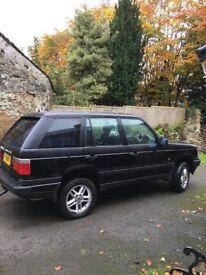 4 x 4 Range Rover 4 litre petrol