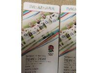 2 tickets for England v Ireland @ Twickenham, 17th March 2018