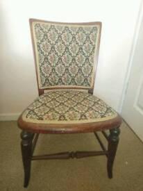 Low Vintage/Antique Nursing Chair
