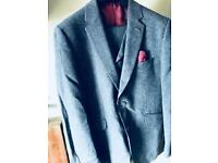 Blue 3 Piece Suit, Never Worn