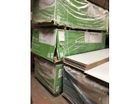 New timber chipboard flooring