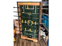Football Foosball table. 5ft pub quality