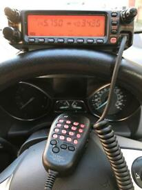 Yaesu ft-8100r dual band fm transceiver ham radio
