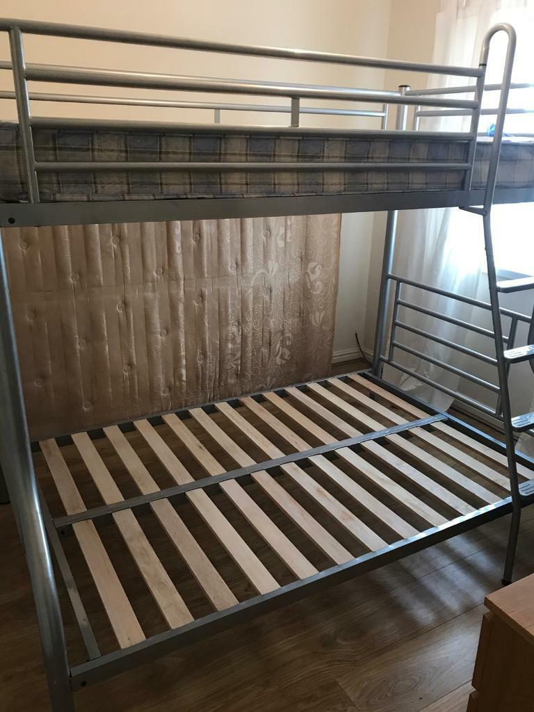 Jaybee Metal Frame Bunk Beds Free Mattresses