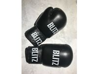 Barely used Blitz boxing gloves, perfect condition