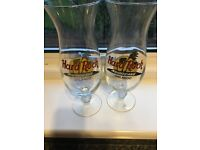 2 x Hard Rock Cafe glasses from Orlando