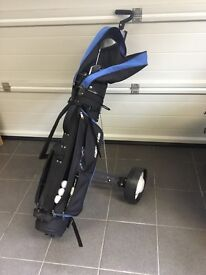 Memphis Golf bag, cart/trolley Assorted Clubs and Accesories