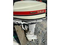 Yamaha P450 25hp long shaft outboard boat engine for spares repairs 2 stroke petrol motor parts